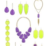 Kendra Scott Purple and Yellow Sale