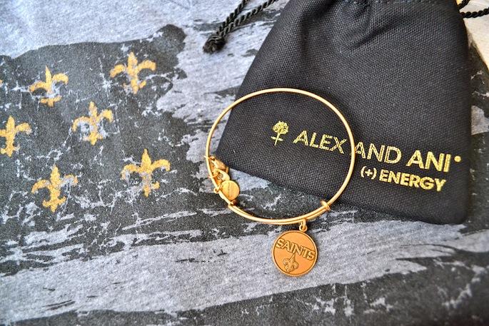 Alex & Ani New Orleans Saints Bangle   Southern Flair