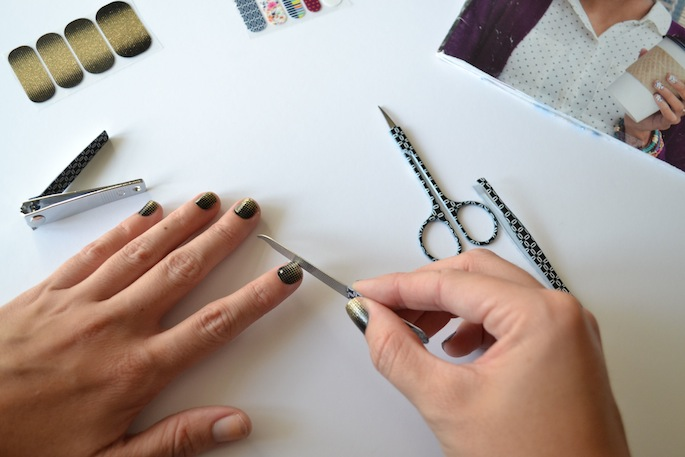 Jamberry Nail how-to tips and review