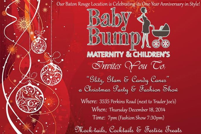 Baby Bump Maternity Baton Rouge location to host fashion show