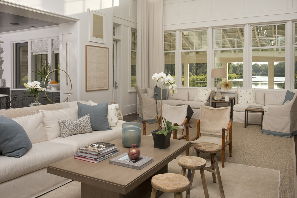 Southern Living Idea House Palmetto Bluff - Southern Hospitality - southern living living rooms