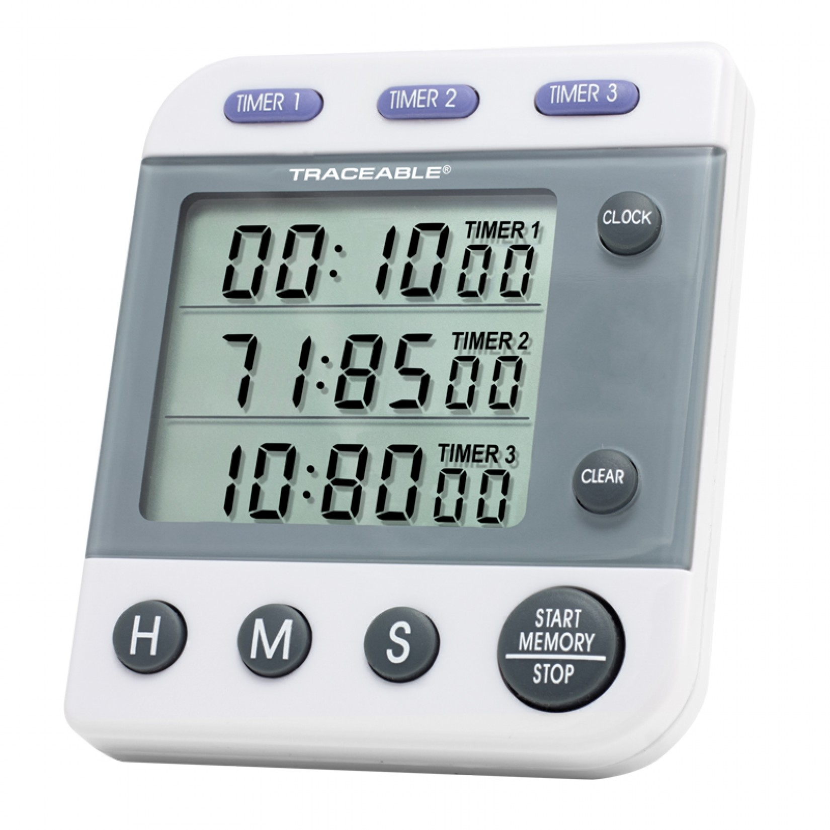 Alarm Timer Traceable Three Line Alarm Timer