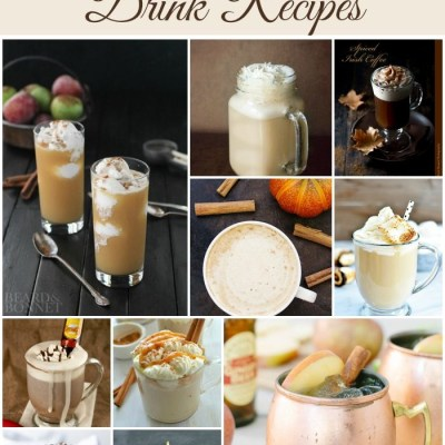 10 Fall Drink Recipes + Starbucks Giveaway