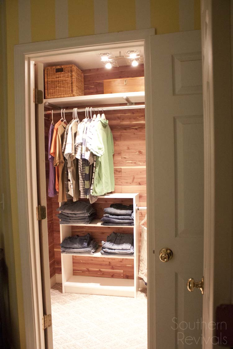 Relooking Nice Man Closet Makeover - Southern Revivals