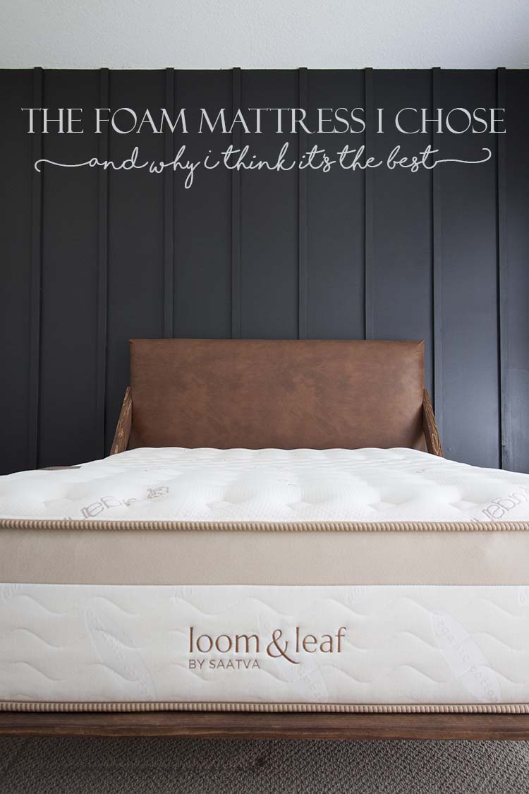 Best Foam Matress The Foam Mattress I Chose And Why I Think It S The Best