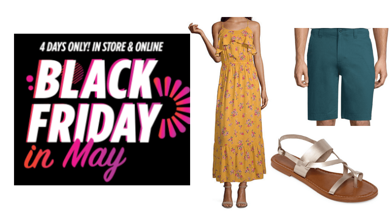 Www Black Friday Jcpenney Black Friday In May Sale Up To Extra 25 Off