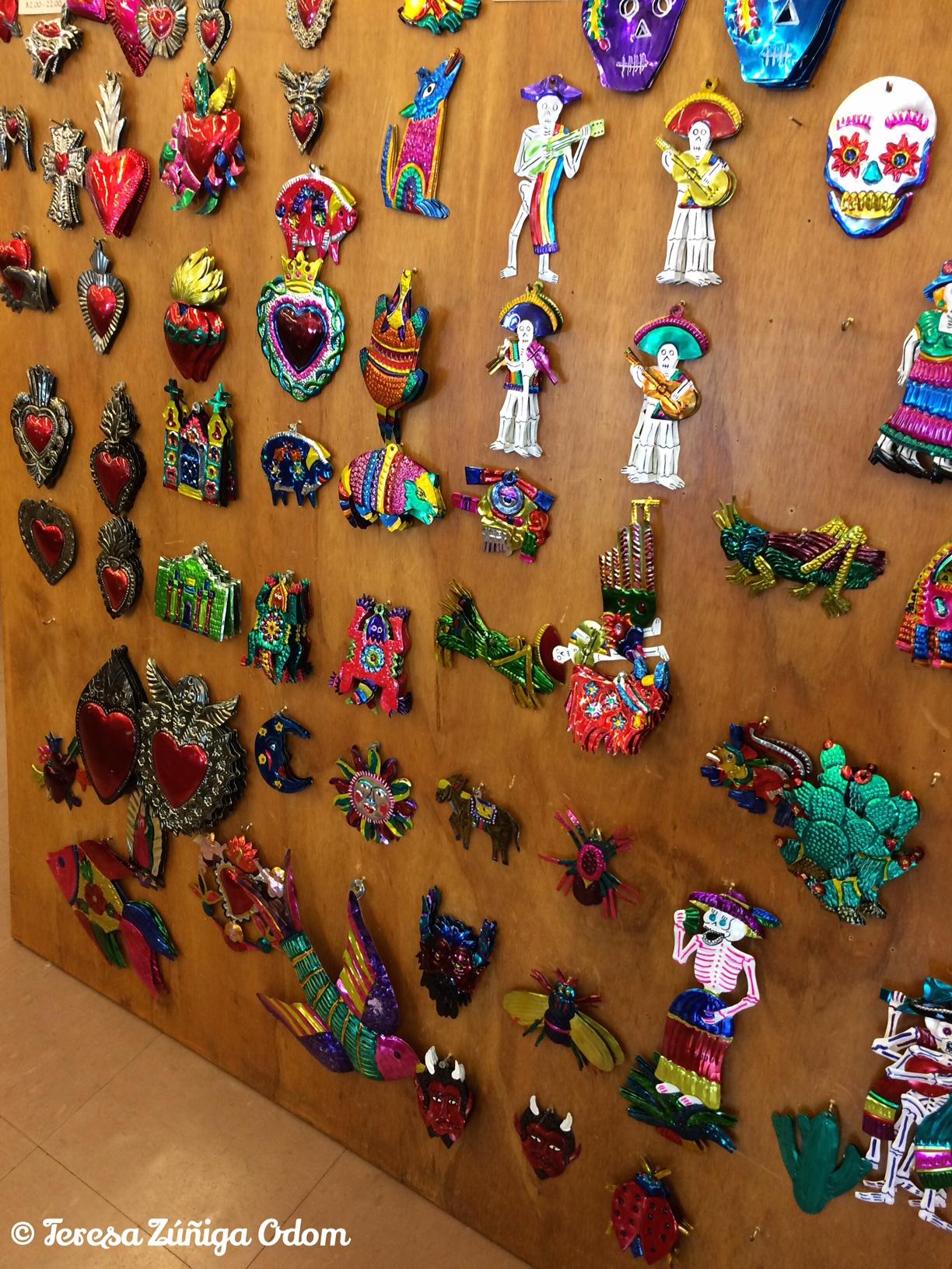 mexican tin christmas ornaments