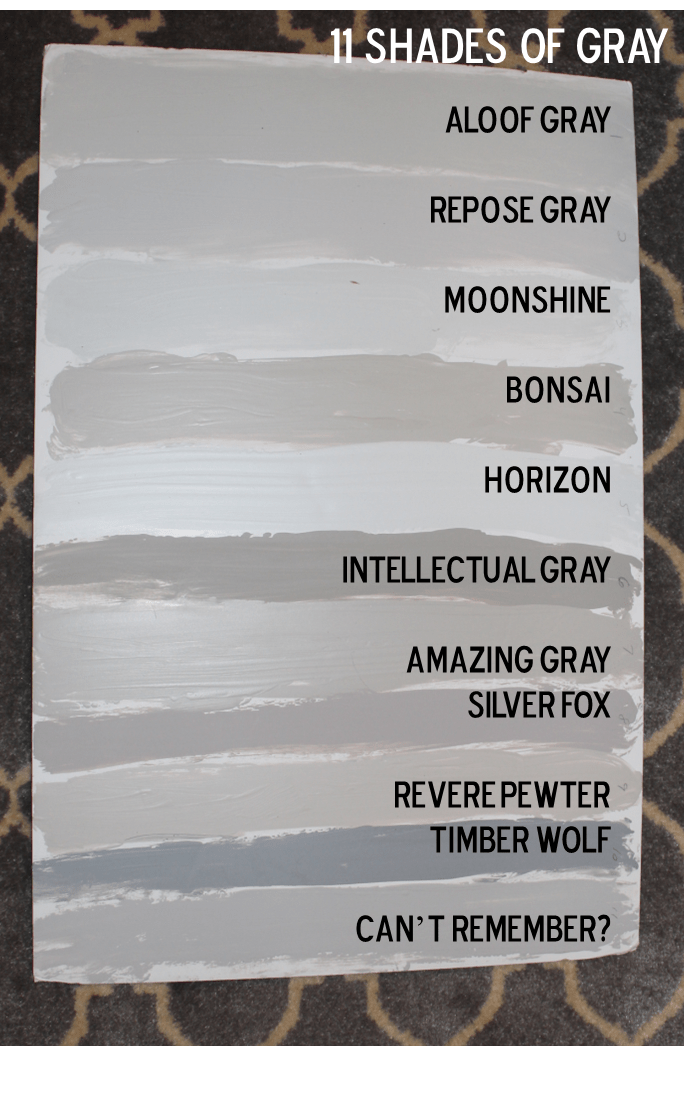 Agreeable Gray Vs Revere Pewter Fifty Shades Of Grey... Our House Paint Colors - Southern
