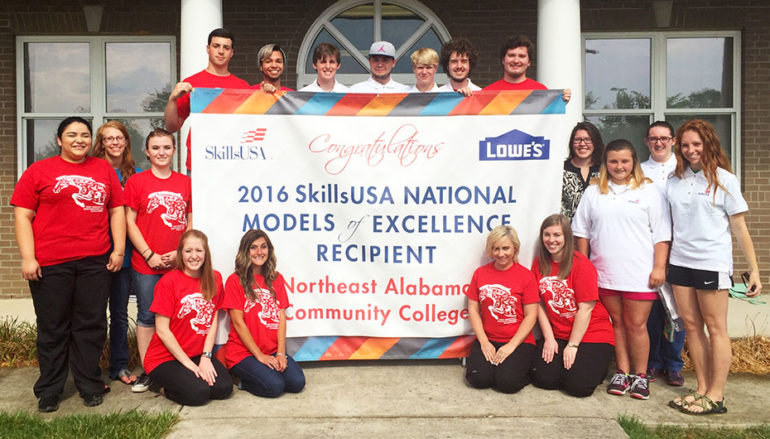 NACC honored for SkillsUSA chapter