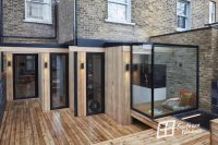Glass Box Extension in North London |Southern Windows case ...