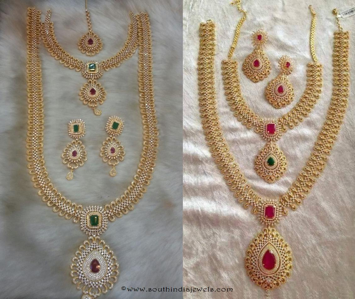 wedding jewellery sets from simma jewels wedding jewelry American Diamond Wedding Jewellery Sets from SIIMA Jewels
