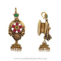Beautiful Gold Jhumka Design From Prince Jewellery ~ South ...