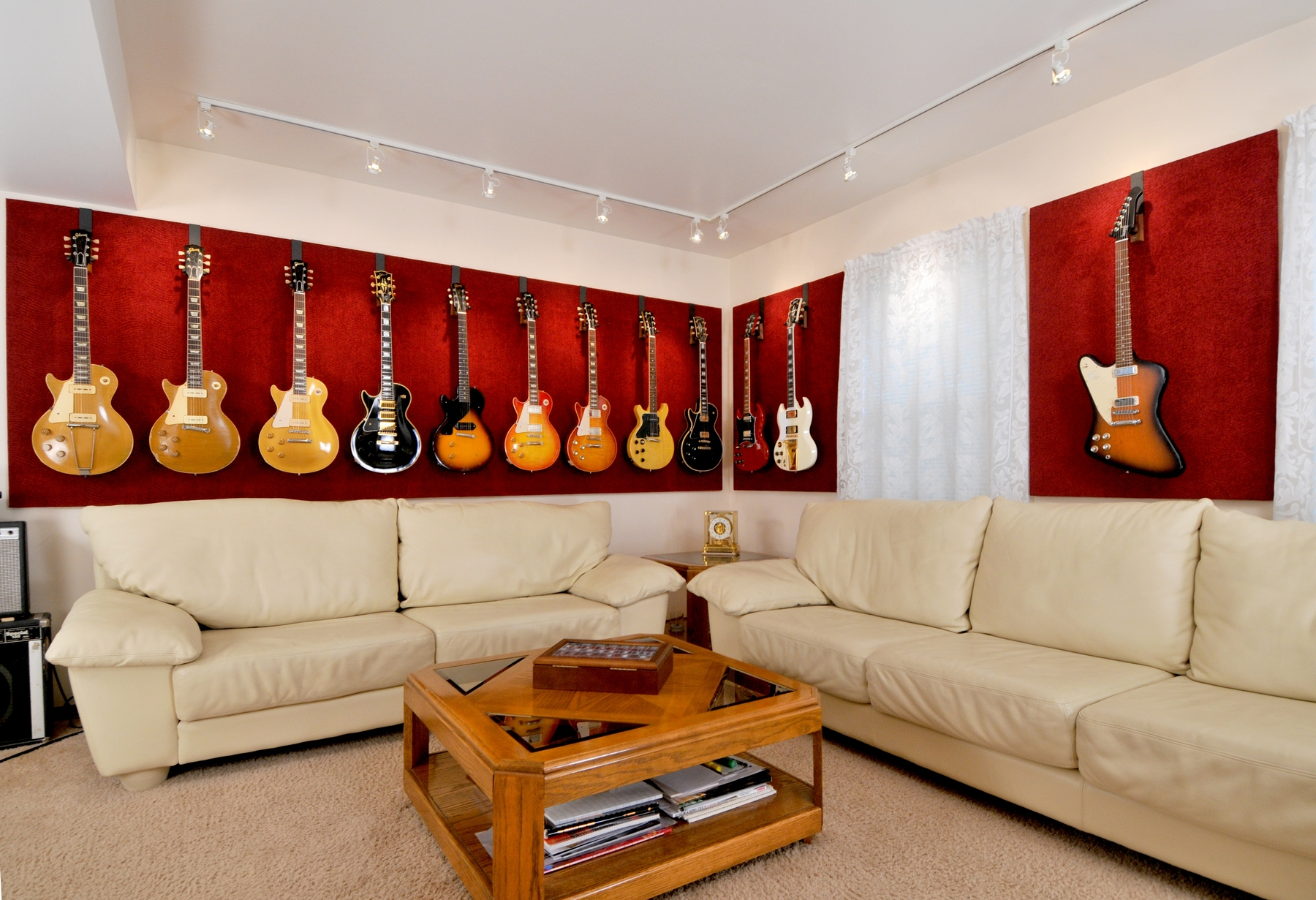 Guitar Decor For Bedroom Show Us Your Guitar Room Man Or Woman Caves Page 2