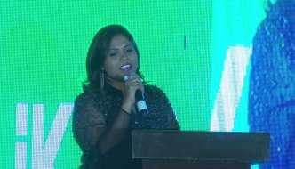 Regeena Jeppiaar speaks at The RITZ presents SouthScope Lifestyle Awards, Hyderabad