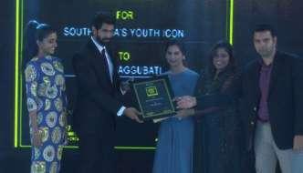 Rana Daggubati wins SouthScope's South India Youth Icon Award