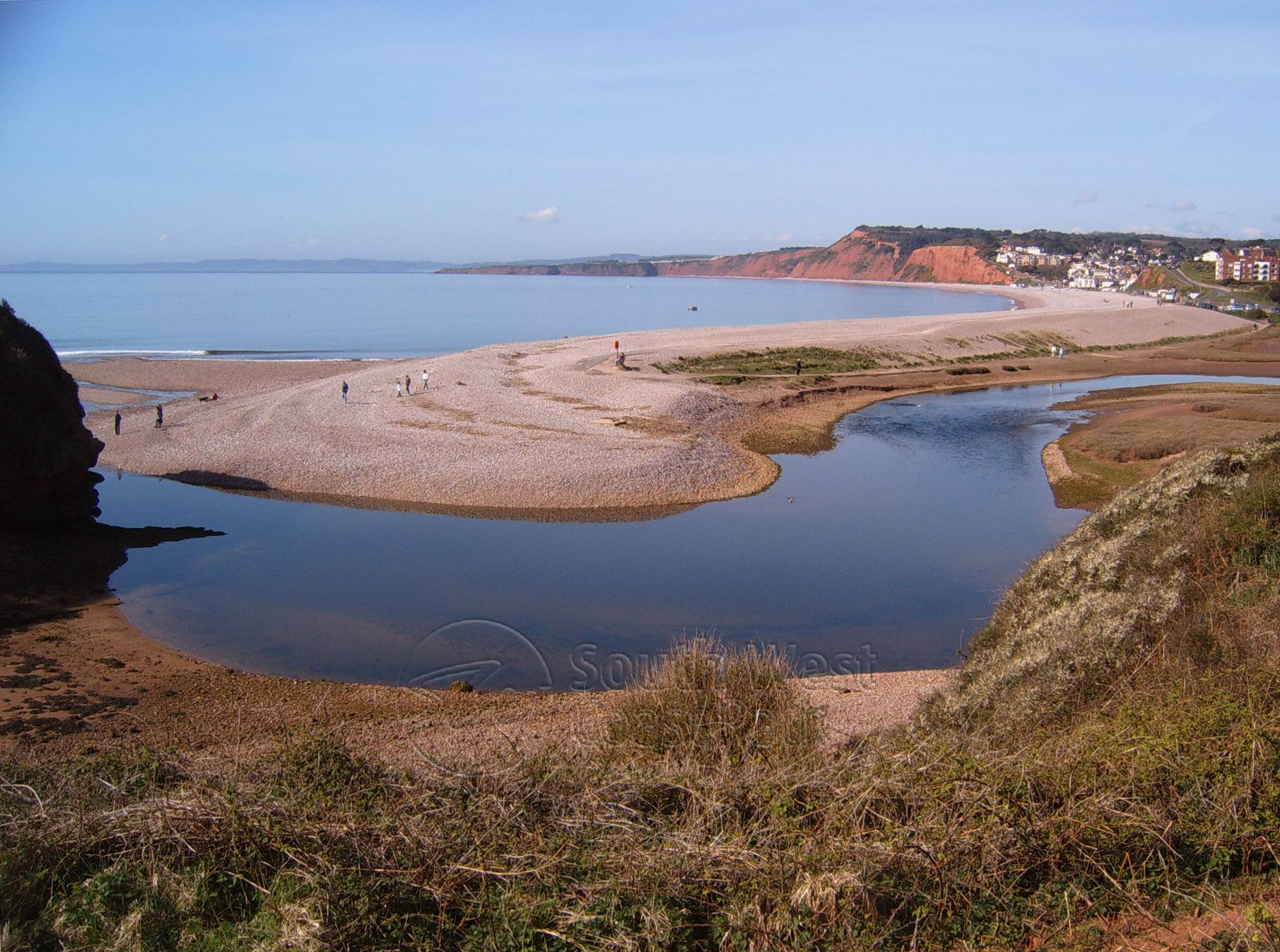 Bed And Breakfast Budleigh Salterton To The Otter S Mouth Walk South West Coast Path