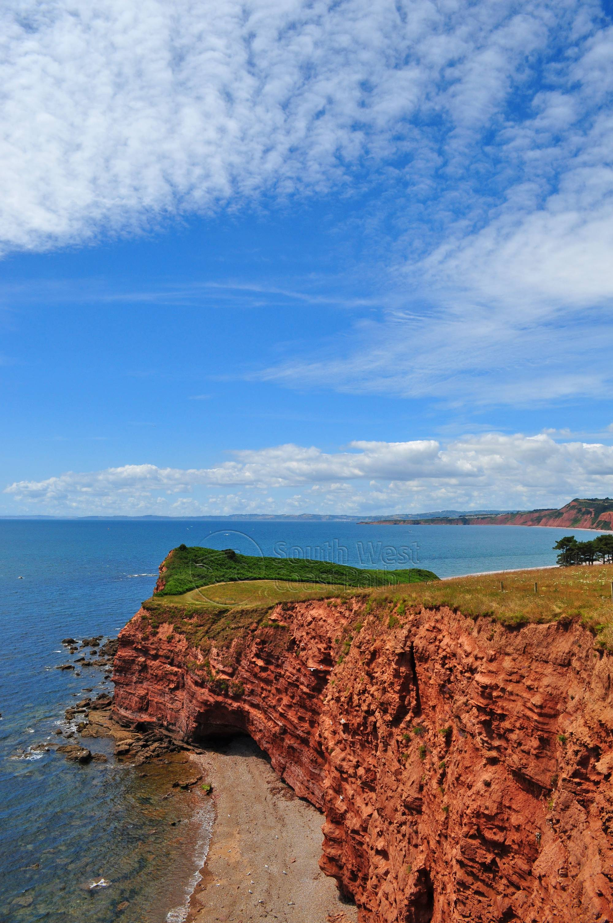 Bed And Breakfast Budleigh Salterton Budleigh Salterton To White Bridge Walk South West Coast Path