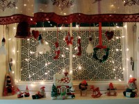 christmas kitchen window   SouthwestDesertLover