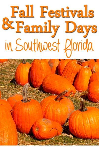 Fall Festivals and Family Days in Southwest Florida
