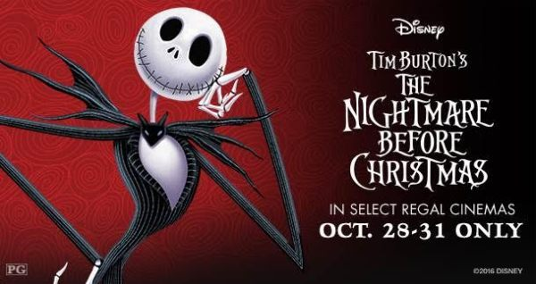 The Nightmare Before Christmas at Local Theaters!