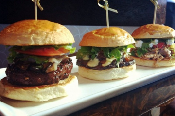 The Bachi Sliders, a new addition to the Bachi menu, are only available at the Summerlin location. Photo Credit: RJ Reyes
