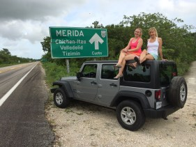 Kristin Francis Souvenir Finder Driving Chichen Itza