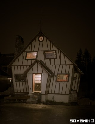 Witch House, Mt. Hood, Oregon.