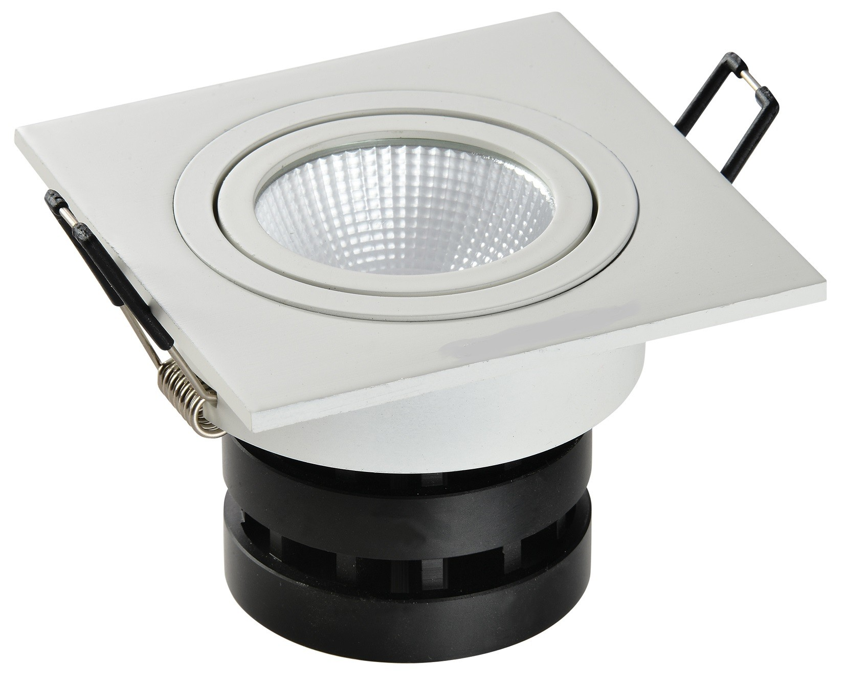 Projecteur Exterieur Encastrable Orientable Spot Led Carré 4x6w Encastrable Dimmable Et Orientable Sow Led