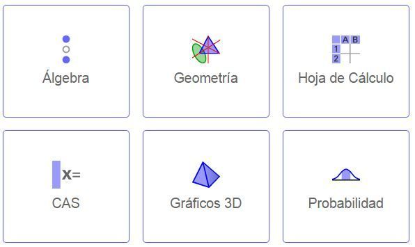 opciones geogebra
