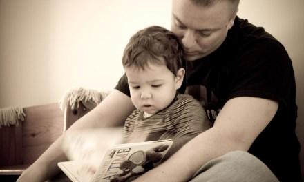 El placer de la lectura durante la paternidad
