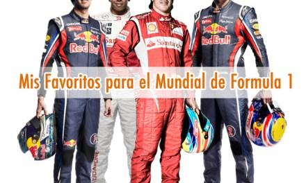 Pronóstico temporada 2011 de F1