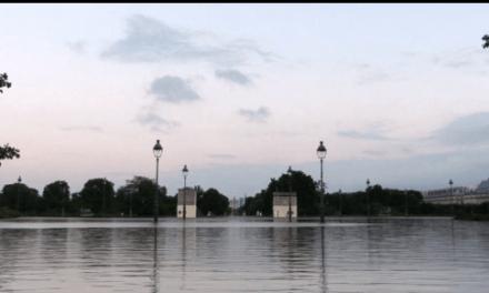 Las inundaciones de Paris de 1.910 recreadas con CGI