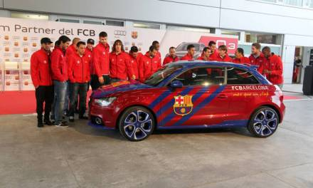 Estos son los coches de los jugadores del Barça