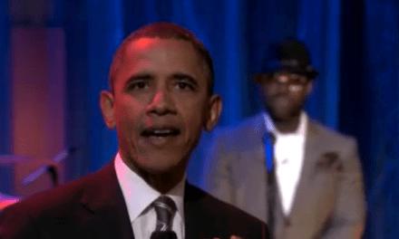 """Obama haciendo una """"Slow Jam"""" en el programa de Jimmy Fallon"""