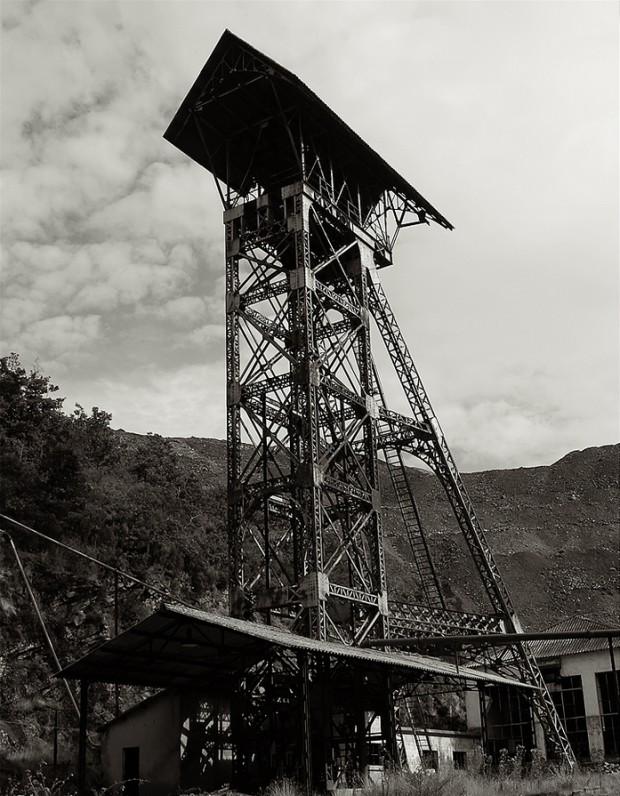 Conjunto Industrial del Pozo de Ibarra en Ciñera de Gordón