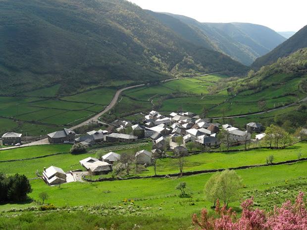 Balouta, en el municipio berciano de Candín