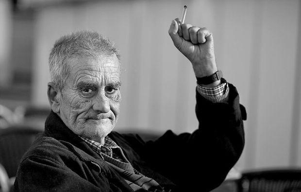 El poeta astorgano Leopoldo María Panero (1948-2014)
