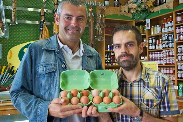 Huevos camperos del Paramo