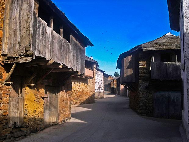 Arquitectura tradicional en La Cabrera