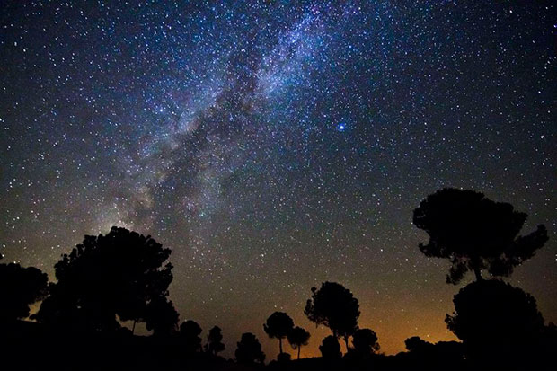 observacion de estrellas astronomia