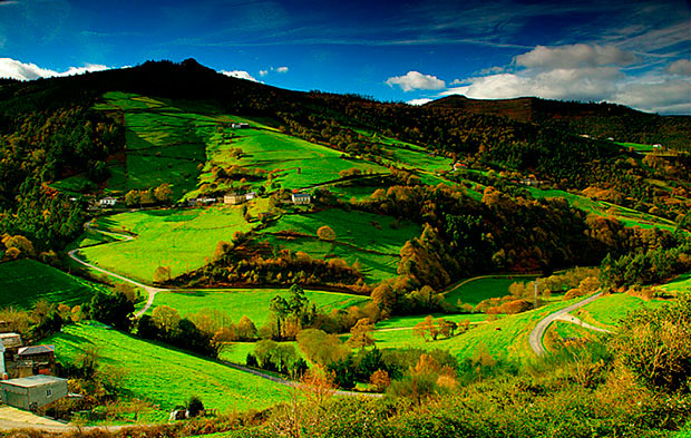 Comarca de Los Oscos (Asturias)