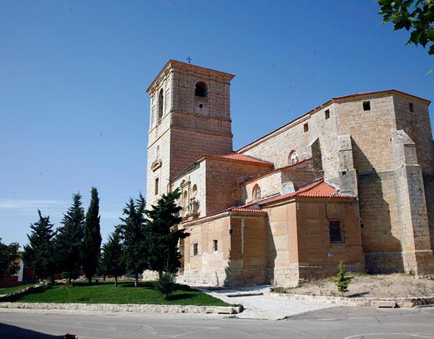 Iglesia de San Cipriano en Pedraza de Campos (Palencia)