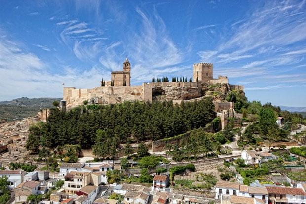 Alcalá la Real y Castillo de la Mota (Jaén)