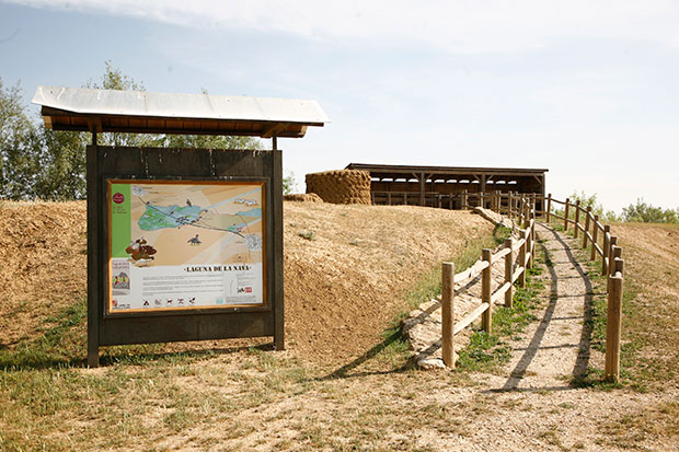 Espacio Natural de la Laguna de la Nava en Fuentes de Nava (Palencia)