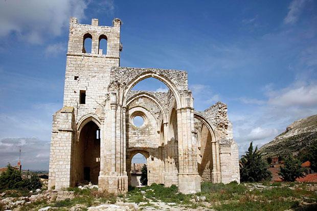 Ruinas de la iglesia de Santa Eulalia, Palenzuela (Cerrato palentino)