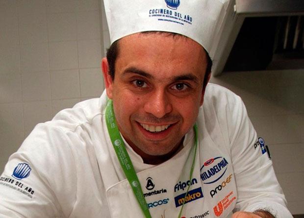 El cocinero tinerfeño Juan Carlos Padrón