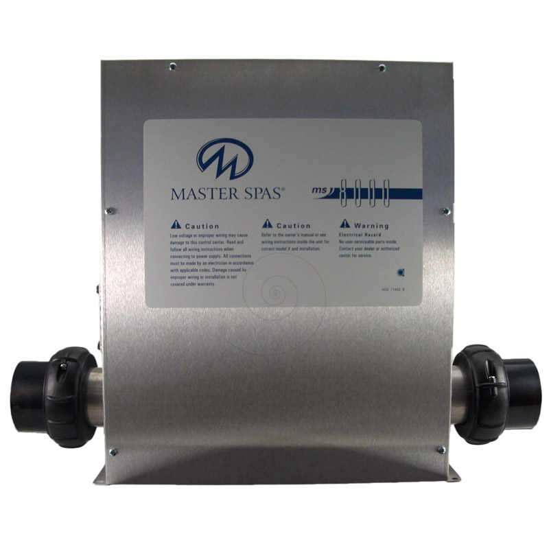 Master Spa Mas8000 Control Box With Heater X300020