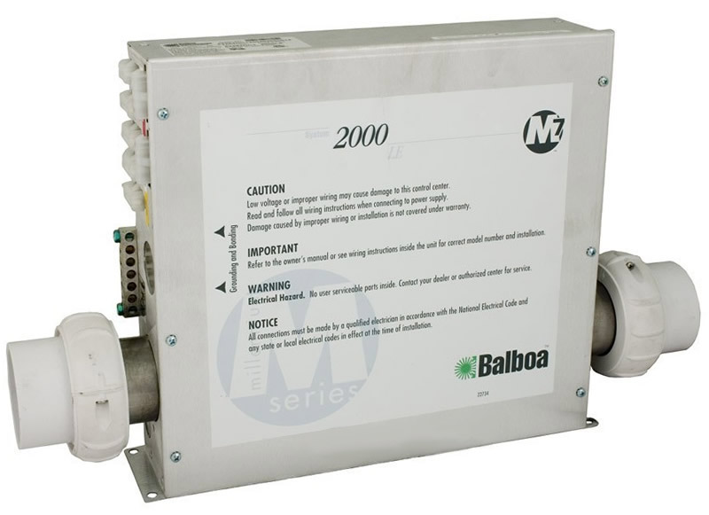 Balboa Water Group 2000LE Control Box 52294-HC - notice of copyright importance