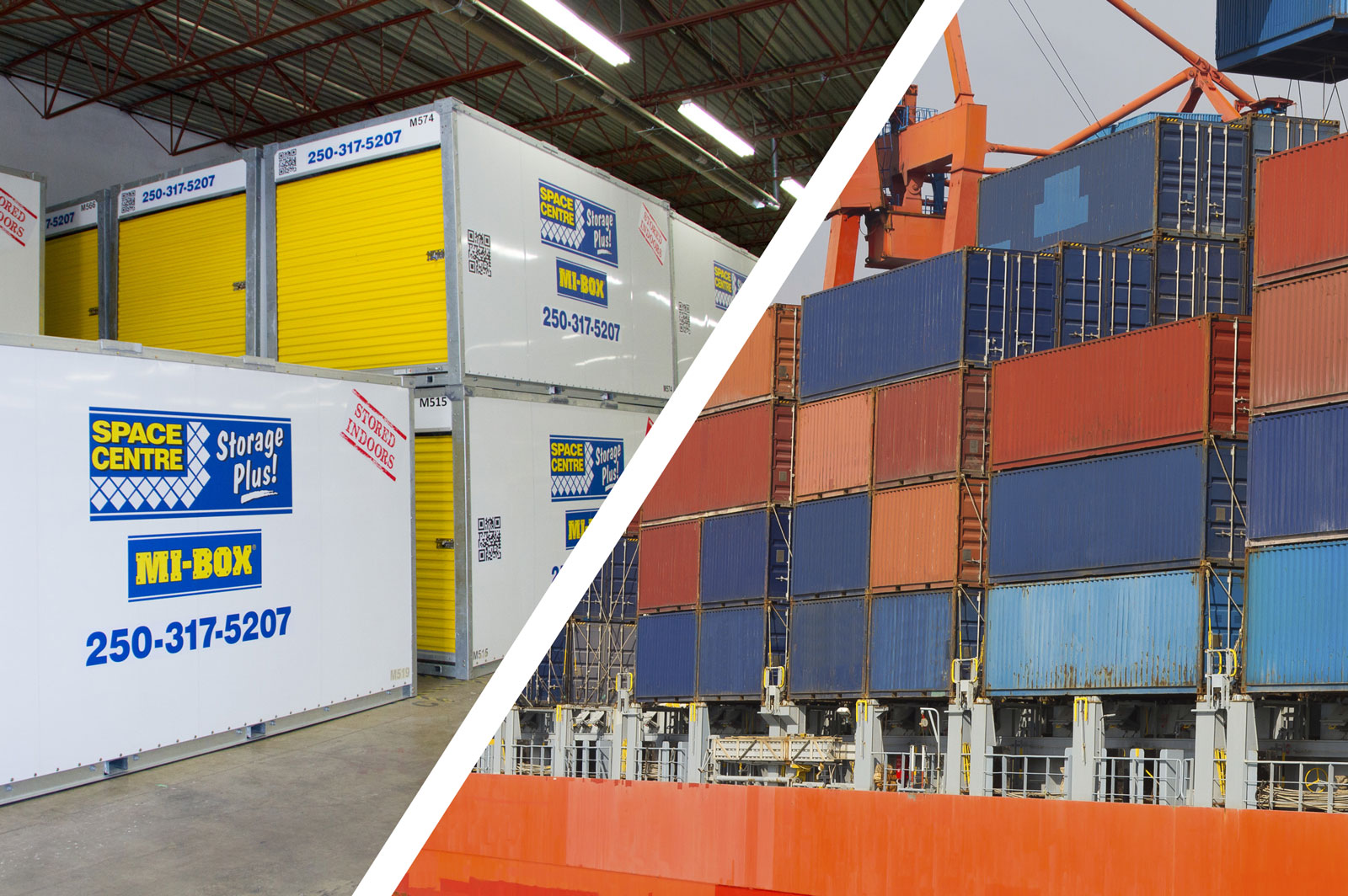 Thinking About Moving Shop Kelowna Mobile Storage Containers Can Help Space Centre Storage - Shipping Supplies Kelowna