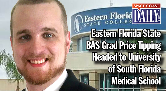 Eastern Florida State Grad Price Tipping Headed to University of